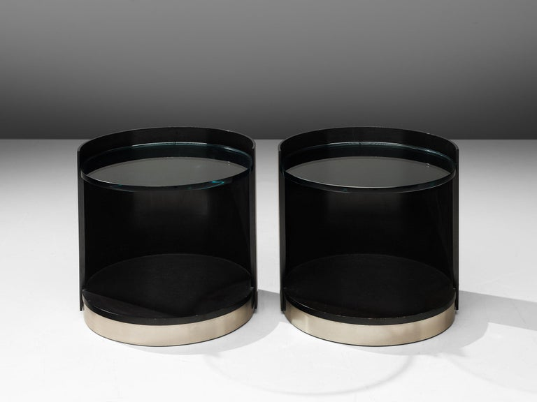 Nightstands by Gianni Moscatelli for Formanova In Good Condition For Sale In Waalwijk, NL
