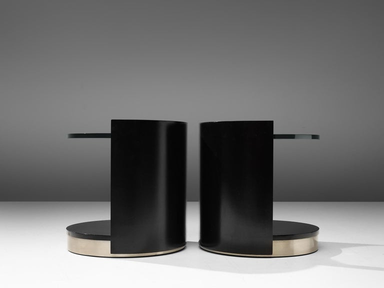 Late 20th Century Nightstands by Gianni Moscatelli for Formanova For Sale