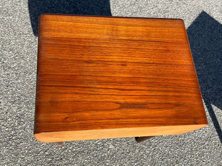 Mid-20th Century Nightstands by Johannes Andersen For Sale