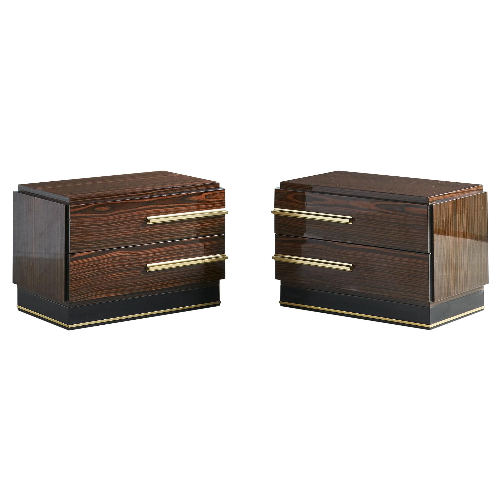 Nightstands by Luciano Frigerio