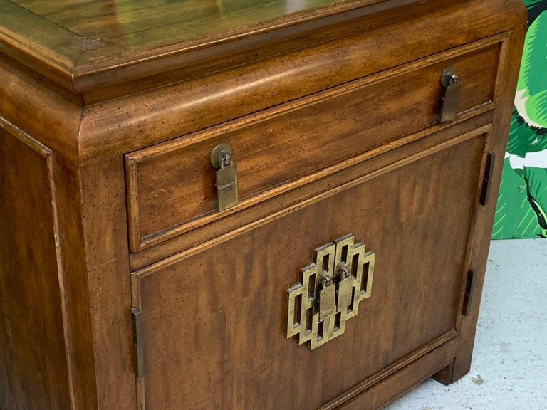 Nightstands by Raymond Sobota for Century Furniture Chin Hua Collection In Good Condition For Sale In Jacksonville, FL