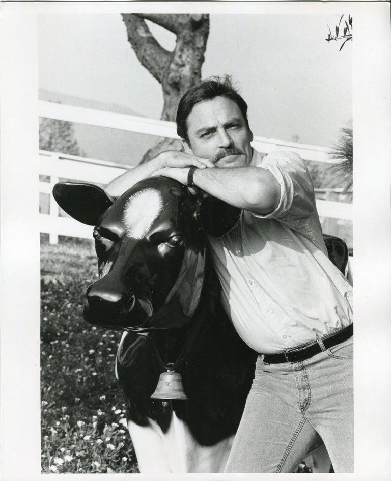 Nik Wheeler Black and White Photograph - Stacey Keach