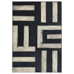 Nika Hofmann Large Scale Modern Abstract Minimalist Paining Austria 21st Century