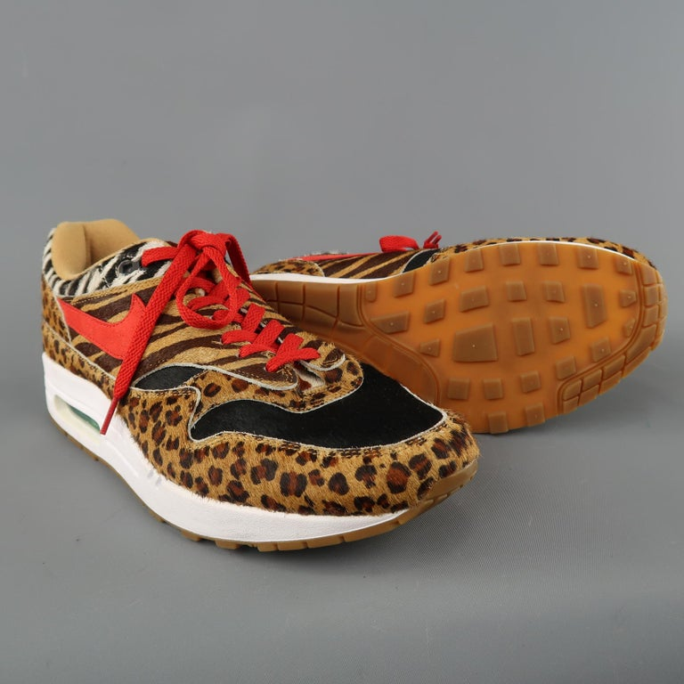 watch e4c23 e4e2c NIKE Atmos x Air Max 1 DLX  Animal Pack  2018 sneakers come in leopard