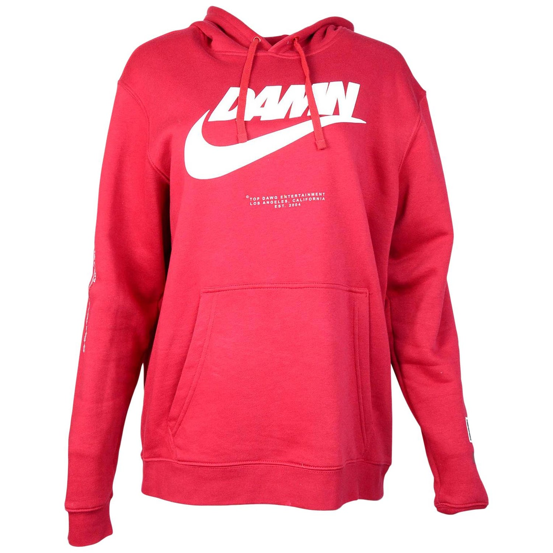 d8135c42 Nike x Kendrick Lamar Men's Red DAMN Hooded Sweatshirt Sz XL For Sale at  1stdibs