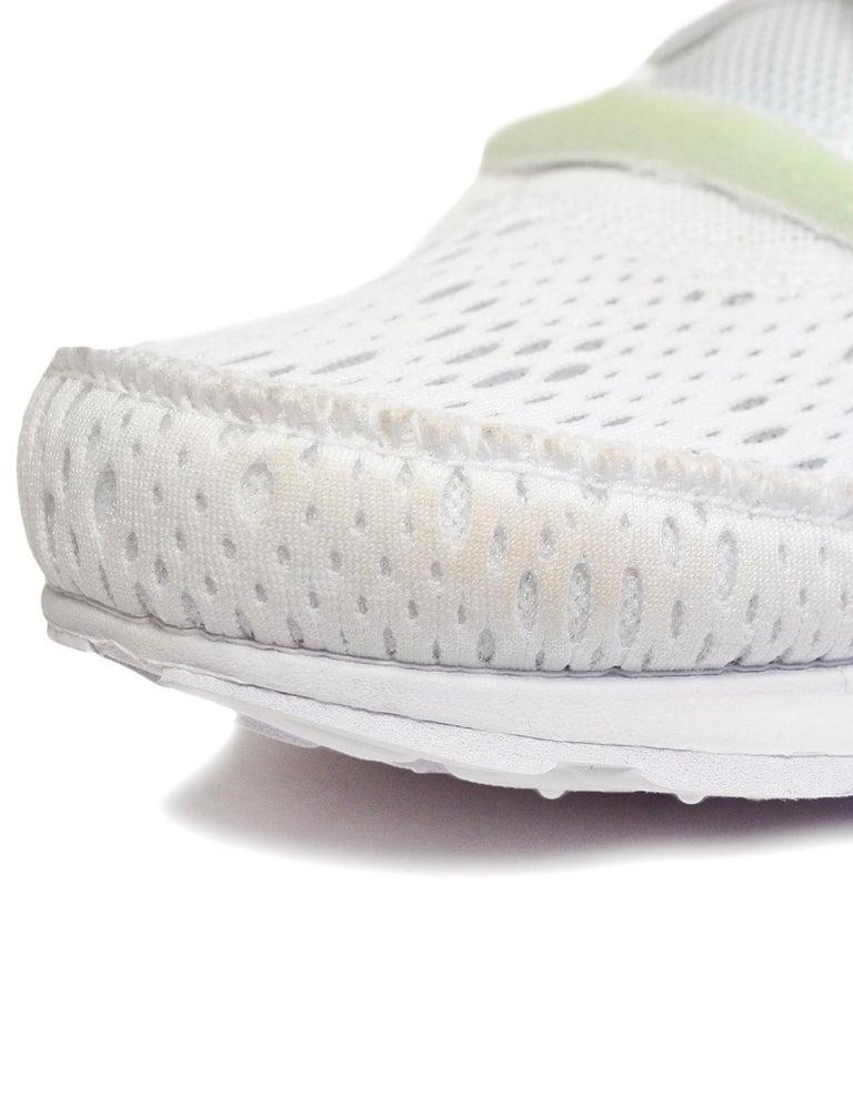 Nike x Off-White Men's NWT White The 10 Air Presto Sneakers sz 8 For Sale 1