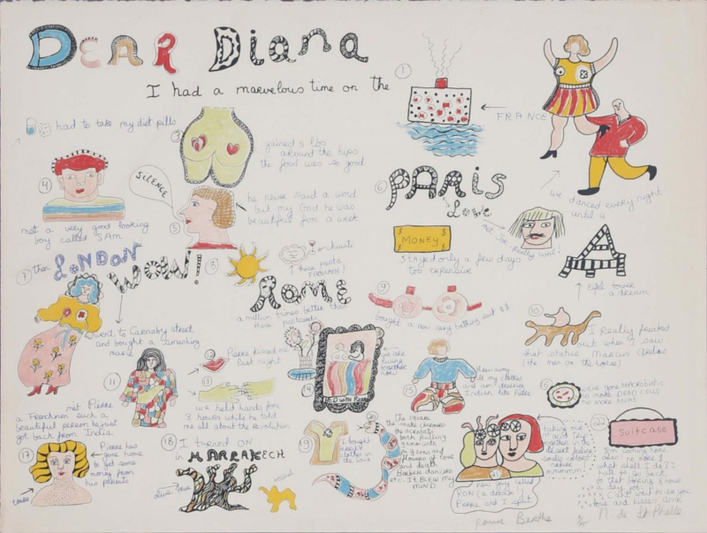 Dear Diana I had a marvelous time