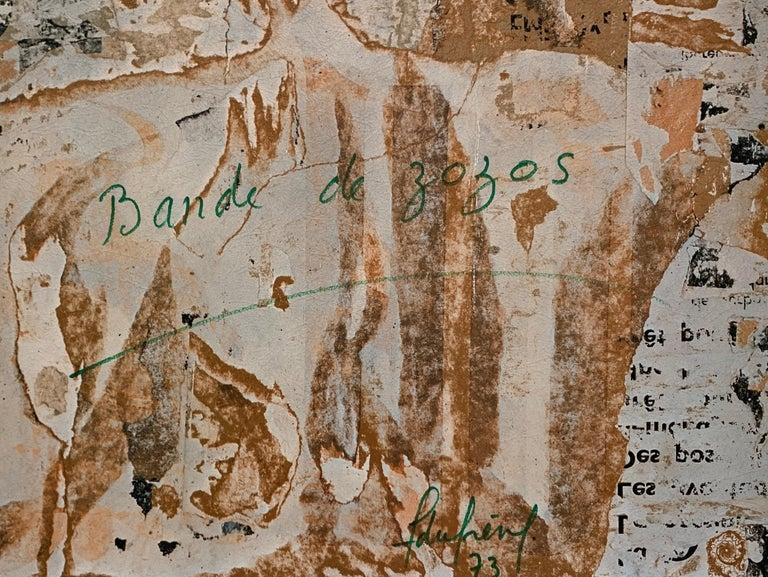 Various images, each in its own portfolio, by artists including: Christo, Villeglé, Spoerri, Niki de Saint Phalle, Hains, Restany, Arman, Rotella, Dufrêne, and Deschamps. Includes a bronze
