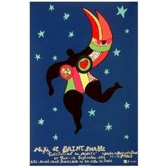 Niki de Saint Phalle, Small Original Vintage Poster