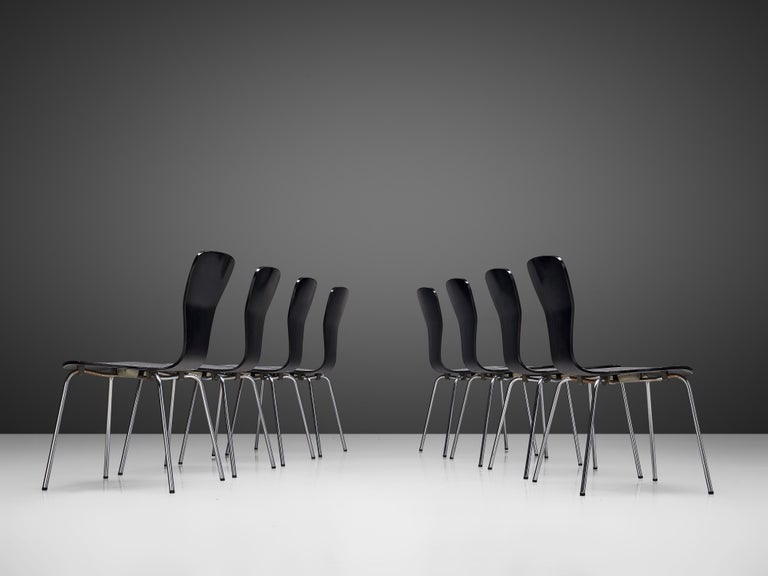 Mid-Century Modern 'Nikke' Dining Chairs by Tapio Wirkkala For Sale