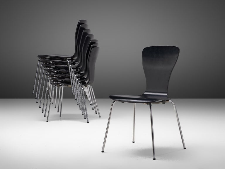 Finnish 'Nikke' Dining Chairs by Tapio Wirkkala For Sale