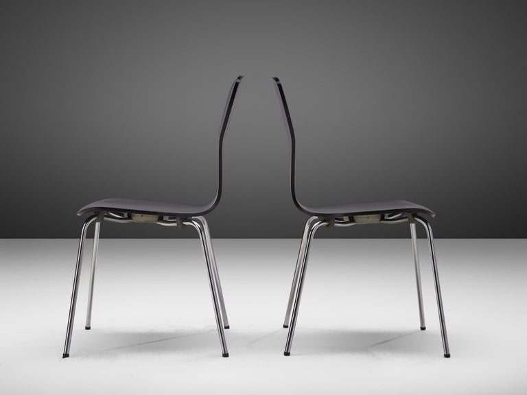Plywood 'Nikke' Dining Chairs by Tapio Wirkkala For Sale