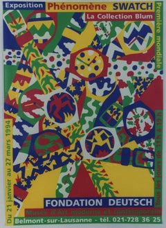 Exposition Swatch , La Collection Blum 1994