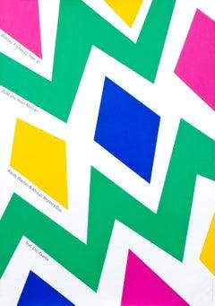 """Randy Weston & African Rhythms Duo"" Troxler Jazz Festival Willisau Poster"