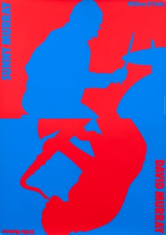 """Sunny Murray, David Murray- Willisau Original Vintage Music Poster"