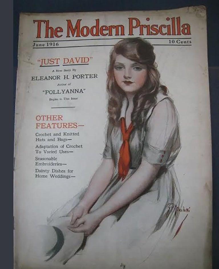 The Modern Priscilla, January 1916.   Edwardiana in 2019