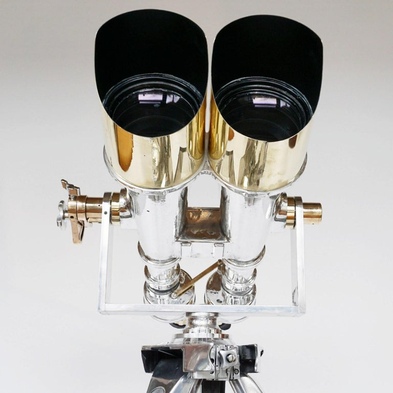 Nikon 20 x 120 WW11 Naval/Marine Binoculars For Sale 8