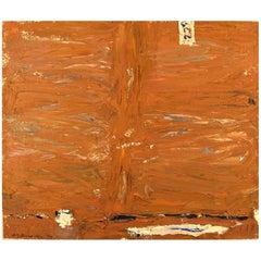 Nils-Göran Brunner, Oil on Canvas, Modernist Composition, Dated 1975