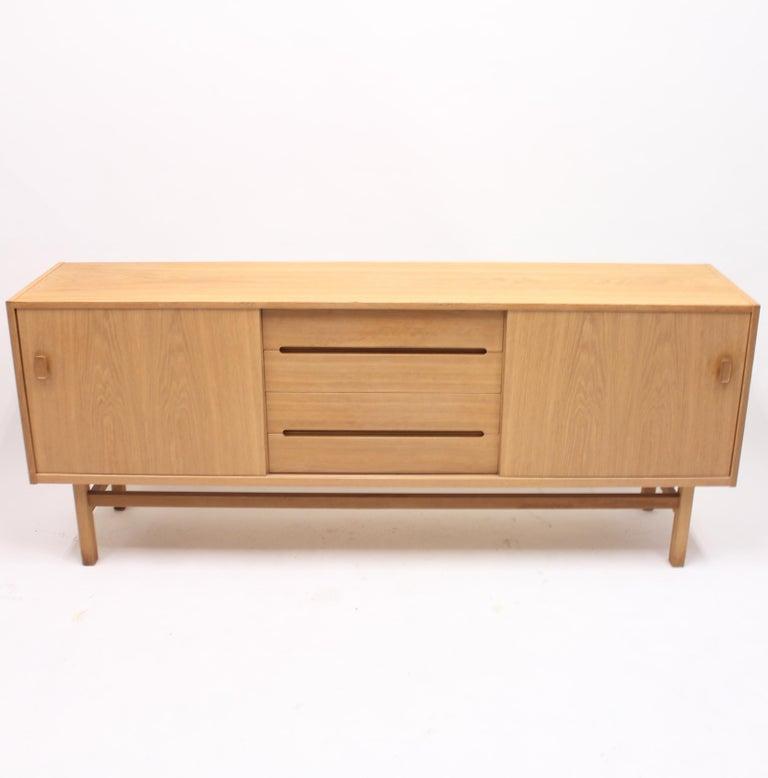 Scandinavian Modern Nils Jonsson, Arild Oak Sideboard, Troeds, 1960s For Sale