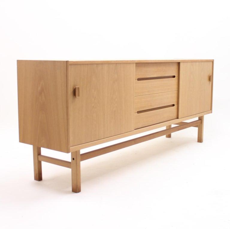Swedish Nils Jonsson, Arild Oak Sideboard, Troeds, 1960s For Sale