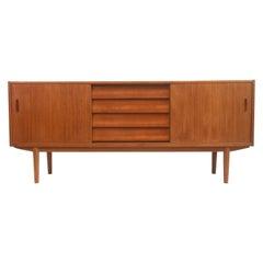 Nils Jonsson For Troeds Teak Mid Century Sideboard, 1960s