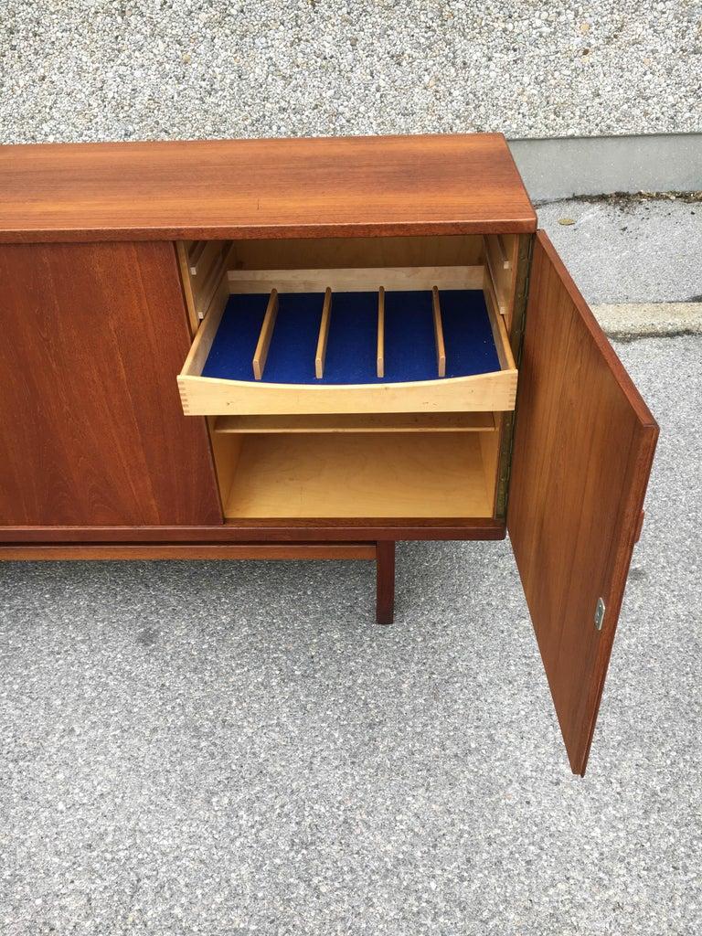 Wood Nils Jonsson Sideboard Model Cannes, Troeds Sweden, 1960s For Sale