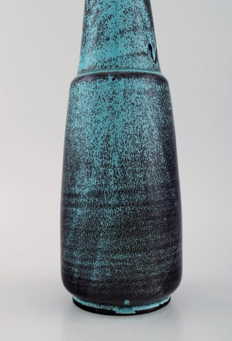 Mid-20th Century Nils Kähler for Kähler, Large Vase in Glazed Ceramics, 1960's For Sale