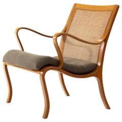 Nils Rooth 'Vienna' Beech Chair, Sweden, 1975