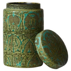 Nils Thorsson Ceramic Jar with Lid for Royal Copenhagen