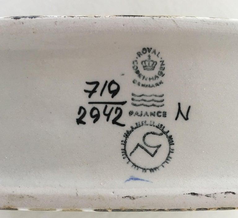 Nils Thorsson Danish Faience Glazed Baca Vase by Royal Copenhagen For Sale 1