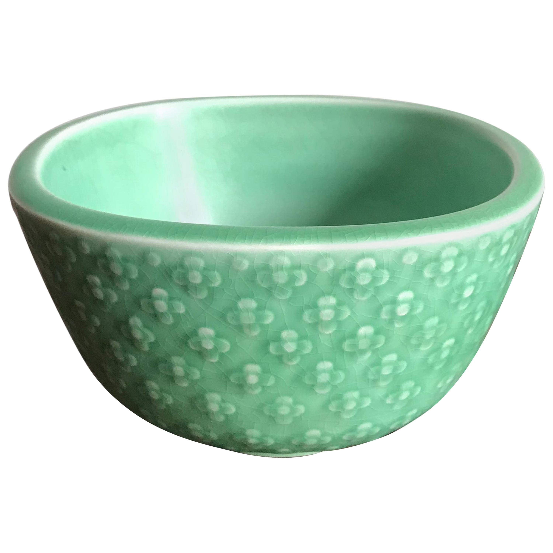 Nils Thorsson for Royal Copenaghen Scandinavian Midcentury Ceramic Bowl, 1950s