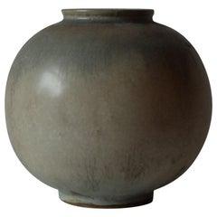 Nils Thorsson for Royal Copenhagen, Glazed Ceramic Vase, 1940s