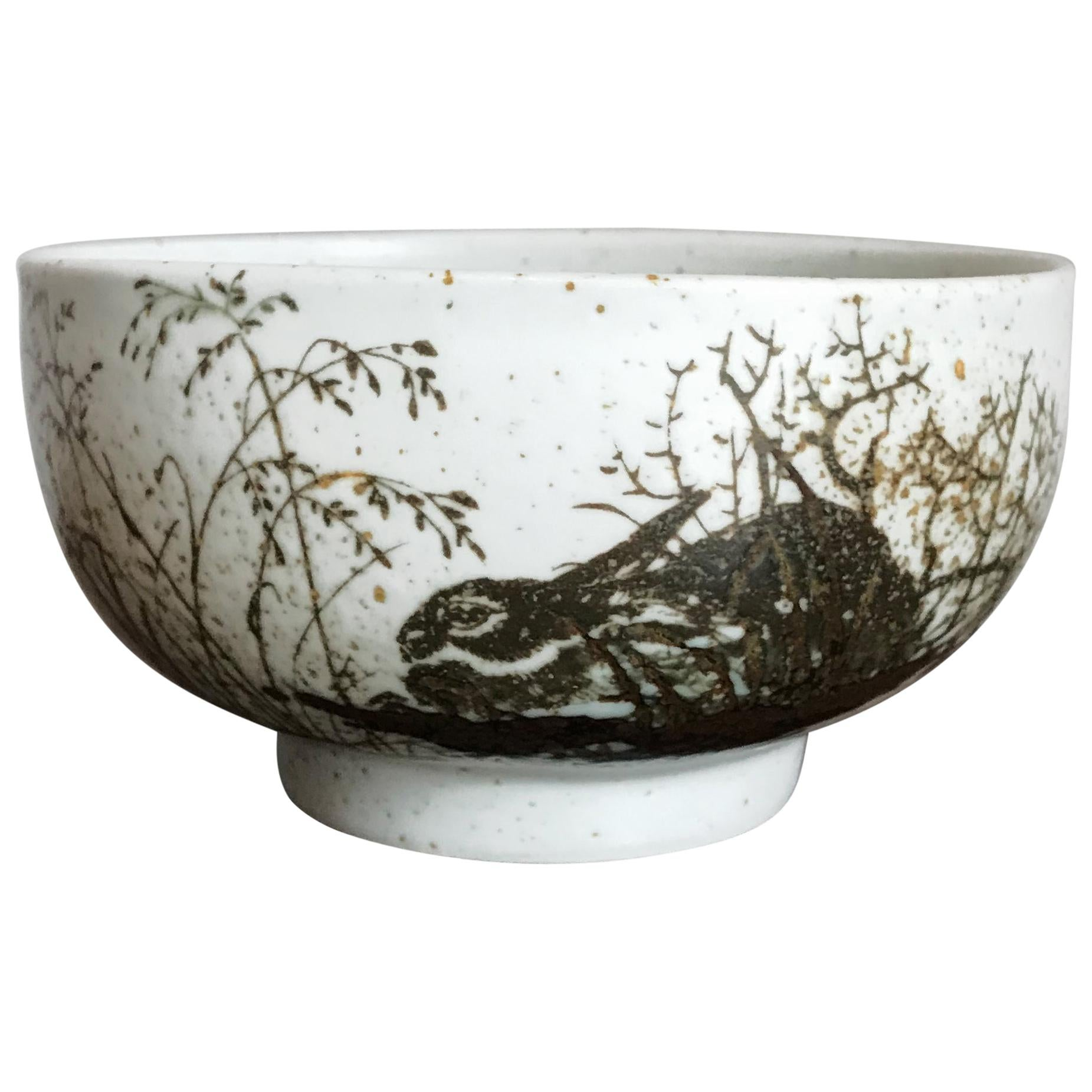 Nils Thorsson for Royal Copenhagen Scandinavian Ceramic Bowl, 1960s