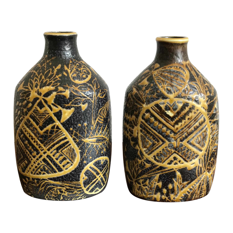 Nils Thorsson for Royal Copenhagen Scandinavian Ceramic Vases, 1960s