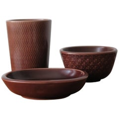 Nils Thorsson Scandinavian Marselis Ceramic Set for Royal Copenaghen, 1950s