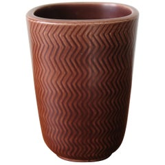 Nils Thorsson Scandinavian Marselis Ceramic Vase for Royal Copenaghen, 1950s