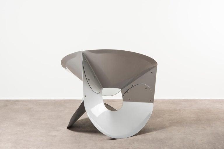 Dutch Nilufar Gallery Chair Swirl by Michael Schoner For Sale