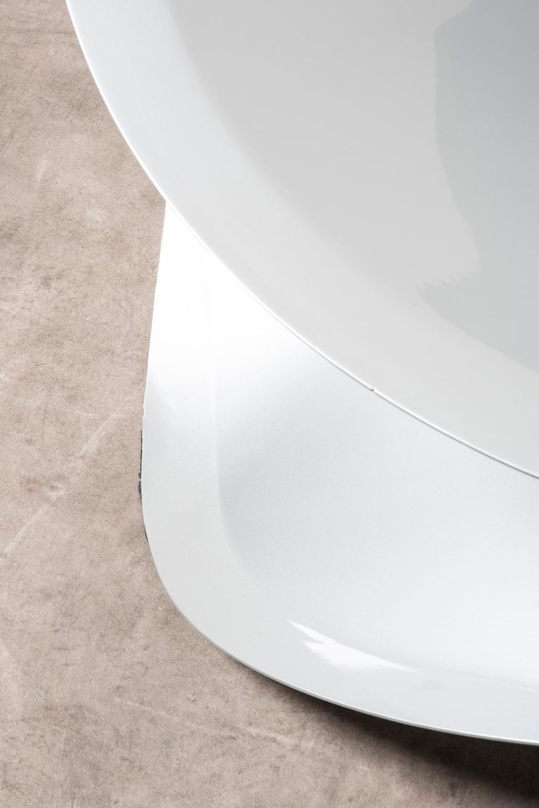 Aluminum Nilufar Gallery Chair Swirl by Michael Schoner For Sale