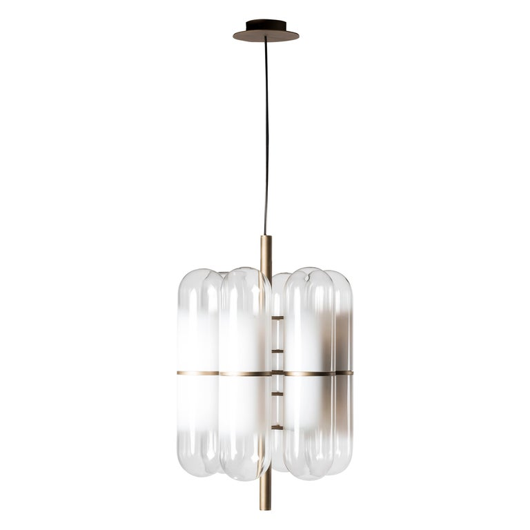 Nilufar Gallery Charlotte M Ceiling Lamp by Federico Peri For Sale