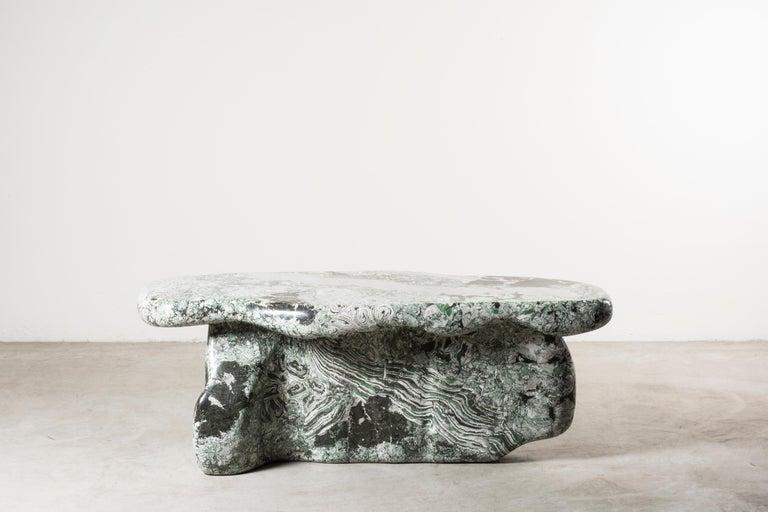 Italian Nilufar Gallery Guise 1 Scagliola Coffee Table by Odd Matter For Sale