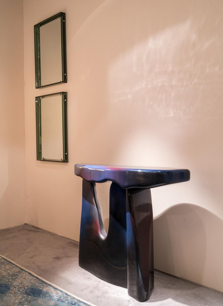 Nilufar Gallery Guise 3 Spray Console by Odd Matter For Sale 1