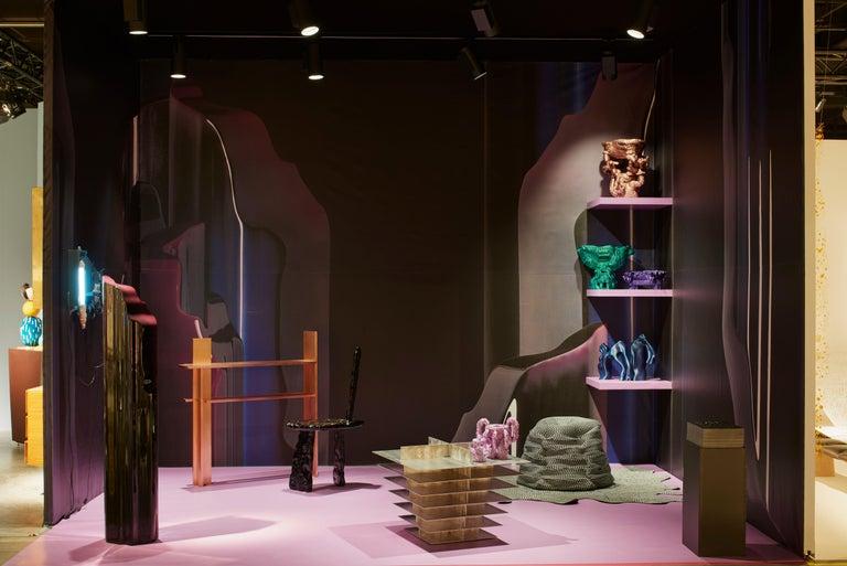 Nilufar Gallery Guise Floor Lamp in Black by Odd Matter For Sale 3