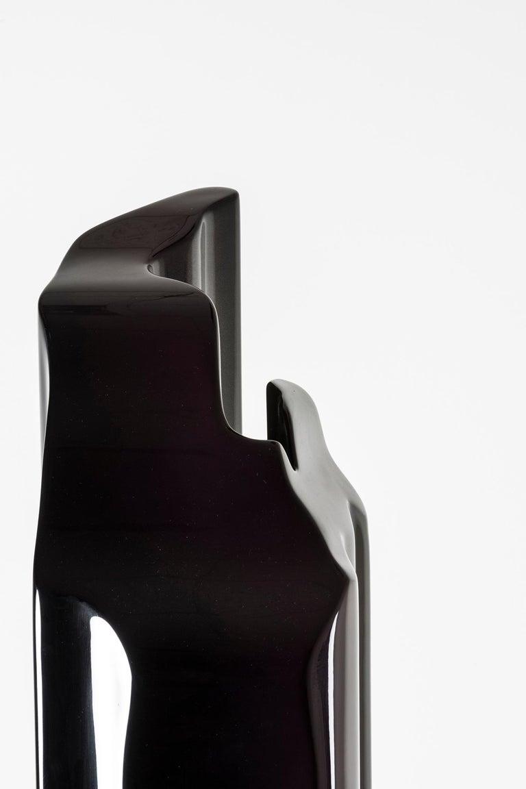 Polystyrene Nilufar Gallery Guise Floor Lamp in Black by Odd Matter For Sale