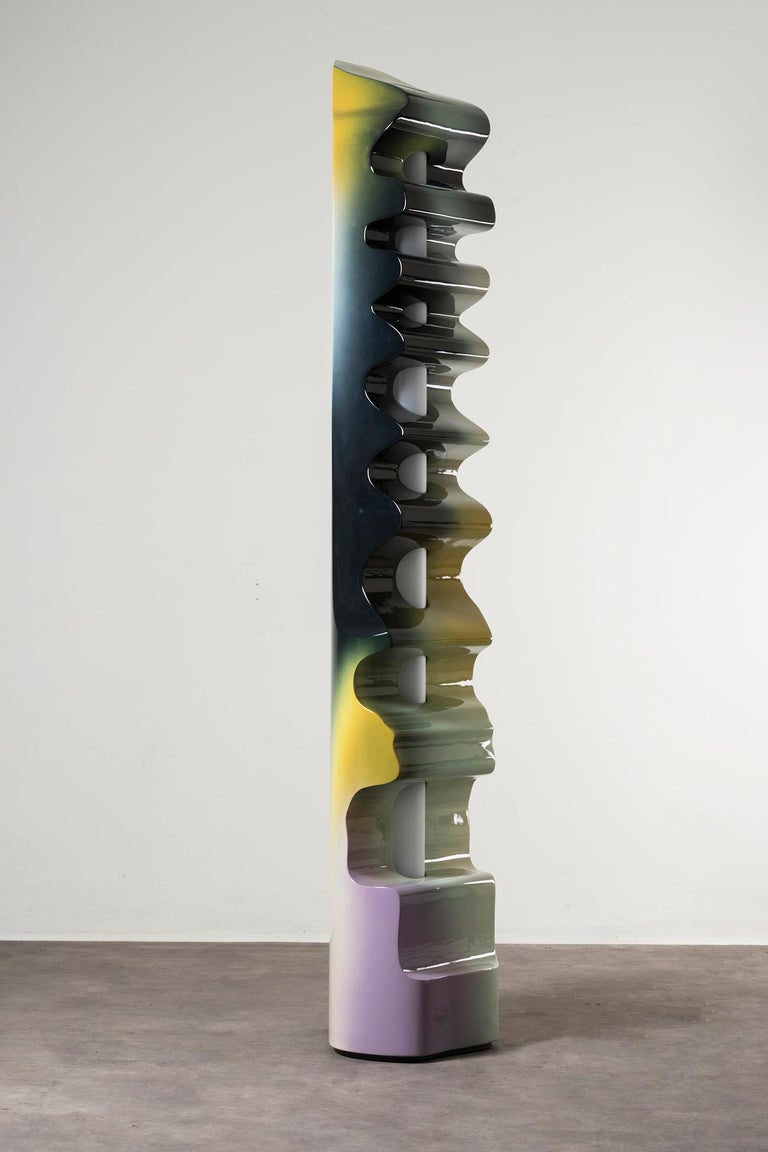 Nilufar Gallery Guise Floor Lamp in Multi by Odd Matter In New Condition For Sale In Milan, IT