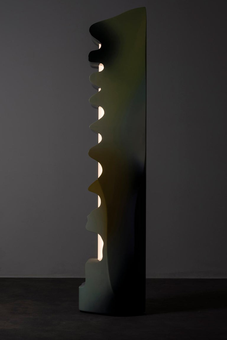 Nilufar Gallery Guise Floor Lamp in Multi by Odd Matter For Sale 1