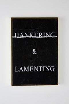 """""""Hankering & Lamenting,"""" 2018 by Nimai Kesten"""