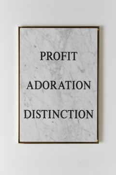 """Profit Adoration Distinction,"" 2018 by Nimai Kesten"