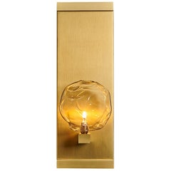 Nimbus Blown Glass Luxe Sconce by Shakuff