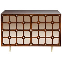 Nina Credenza Natural Wood Handmade Sophisticated Details 120