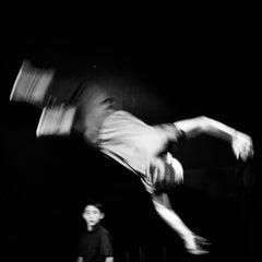 Circus No. 3 / acrobat family / children - framed